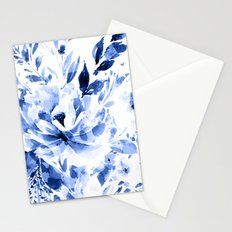 Blue Blomm Stationery Cards
