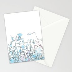 Scientist Frog Stationery Cards