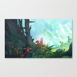The Second Stone Canvas Print