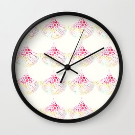 Party Scallops Wall Clock