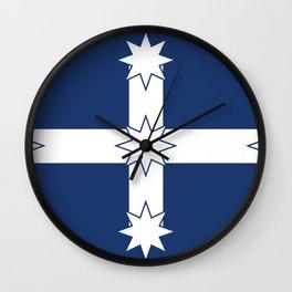 Eureka Stockade Flag Wall Clock