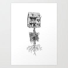 Petite Mort + Deep Breath Art Print