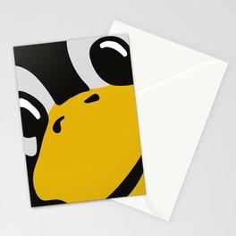 Linux tux Penguin eyes Stationery Cards