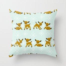 Where's Rudolph? Throw Pillow