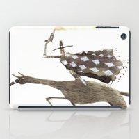cowboy bebop iPad Cases featuring Cowboy by Peerro