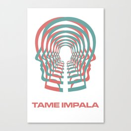 Tame Impala HEAD Canvas Print