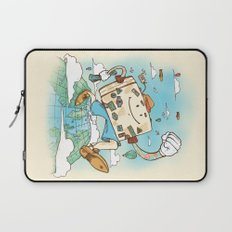 Mr Globetrotter Laptop Sleeve