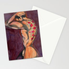 tattooed body Stationery Cards