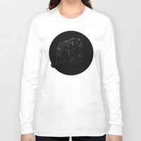 panther Long Sleeve T-shirts featuring Panther by Kennie Gathuru