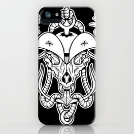 Sigil of the Wolf Captain iPhone Case