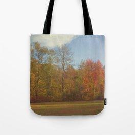 Fall Landscape Tote Bag