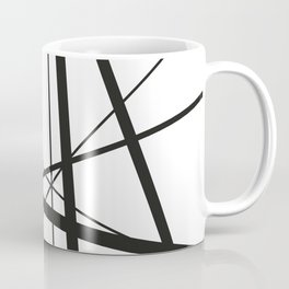 Mikado Sticks - stripes white Coffee Mug