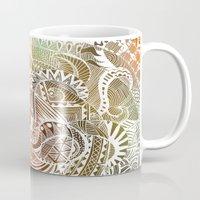 batik Mugs featuring Batik by brenda erickson