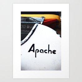 Apache Art Print