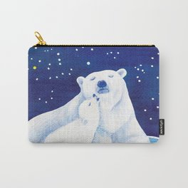 Polar bears, arctic animals Carry-All Pouch