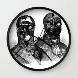 Noh Mask  Wall Clock