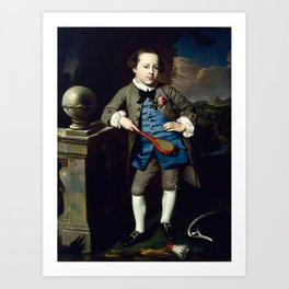 John Singleton Copley - Portrait of a Boy Art Print