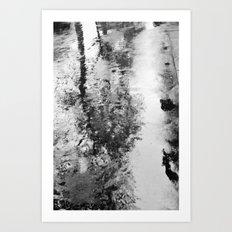 Bad weather. Art Print