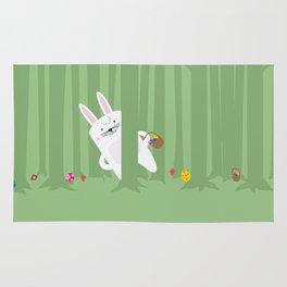 Easter Bunnyville Rug