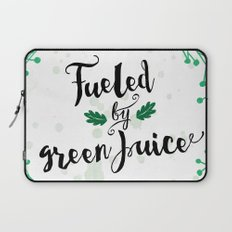 Fueled by Green Juice Laptop Sleeve