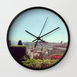 Top of Lombard Wall Clock
