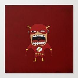Screaming Flash Canvas Print