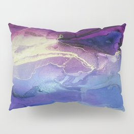 Pour your art out in lilac Pillow Sham