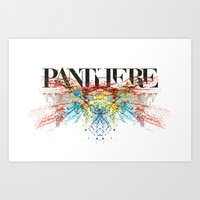 panther Art Prints featuring Panther by Raphaël
