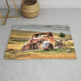 Ford Early 1940's Flatbed Truck Rug