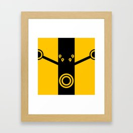 The Suit of Kage Framed Art Print