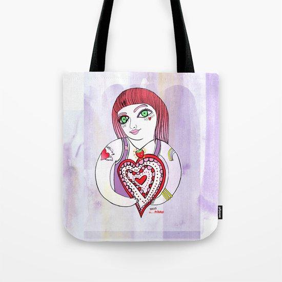 --->Strawberry_POP_Love! Tote Bag