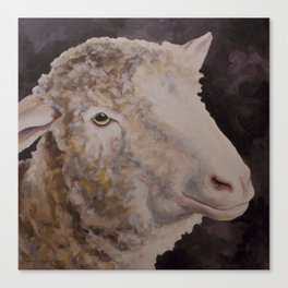 Zoe's Sheep Canvas Print