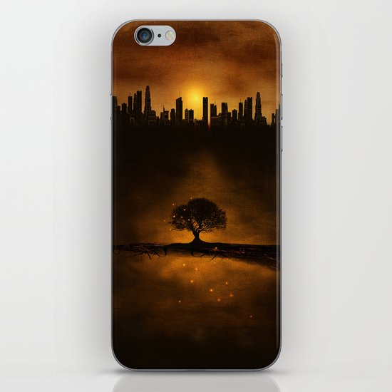 underground energy iPhone & iPod Skin