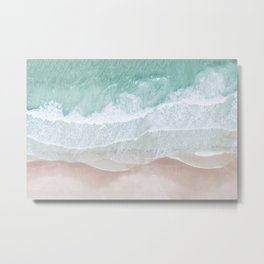 Birds View Sea Metal Print