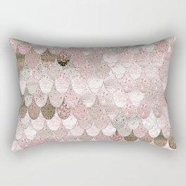 SUMMER MERMAID NUDE ROSEGOLD by Monika Strigel Rectangular Pillow