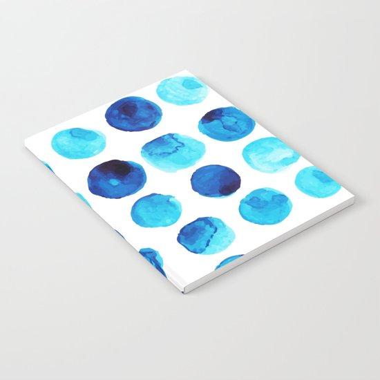 Blue dots Notebook