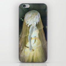 Castle of Kerglas, The Mysterious Woman, Inverted Version iPhone & iPod Skin
