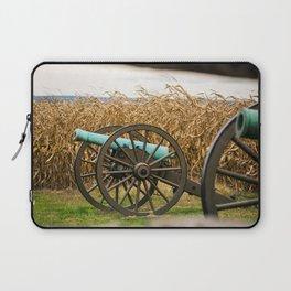 Cannon amongst the Corn Antietam National Battlefield Civil War Battleground Maryland Laptop Sleeve