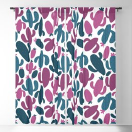 Colorful Hand Drawn Pattern Blackout Curtain