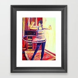 Hula Time Framed Art Print