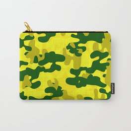 Camouflage (Yellow) Carry-All Pouch