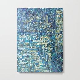 Circuit Overload Metal Print