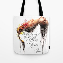 Labyrinth of Suffering Tote Bag