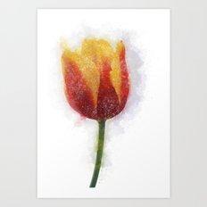 Tulip Painting Art Print