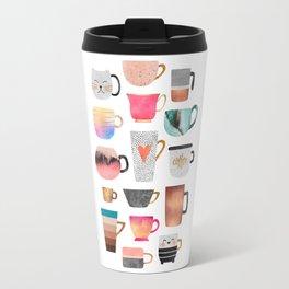 Coffee Cup Collection Travel Mug