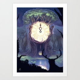 The Time Art Print
