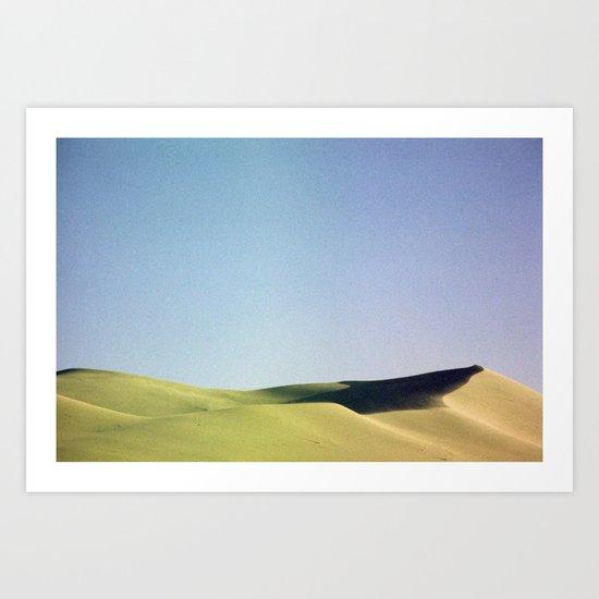 grain loss Art Print