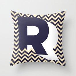 R. Throw Pillow