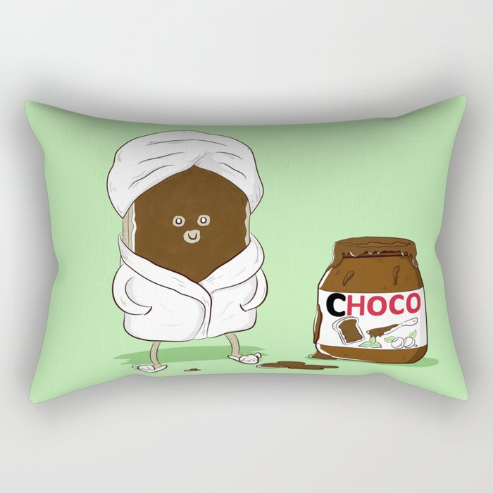 Pamper yourself Rectangular Pillow