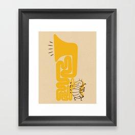 Tuba Bug Framed Art Print